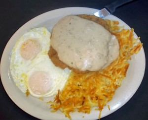 Country Fried Steak with Country Gravy