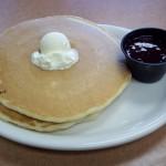Gluten Free Marionberry Pancake Full Stack