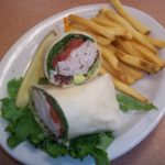 BLT TURKEY WRAP