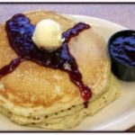 Huckleberry Pancakes Short Stack